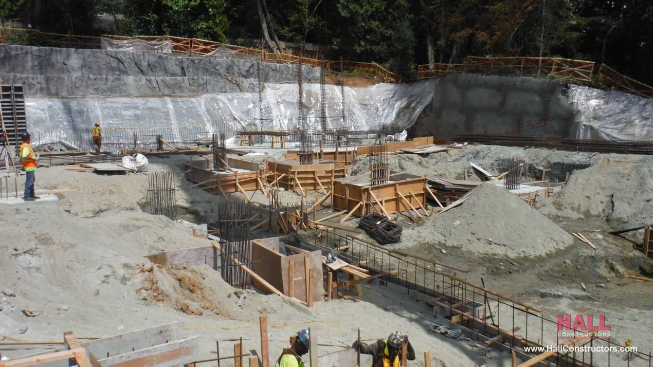 Maison senior living excavation and shoring construction projects hall constructors - Maison jardin assisted living avignon ...