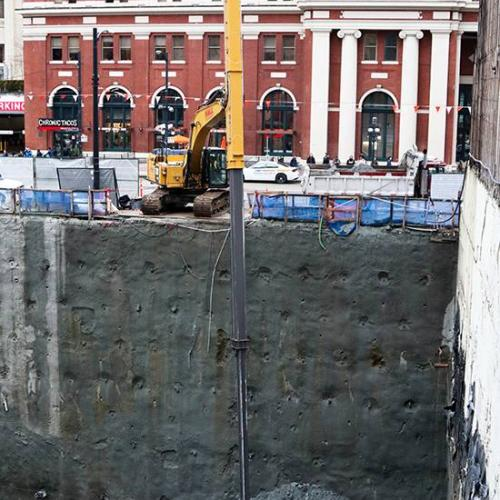 Waterfront Centre – Excavation and Shoring